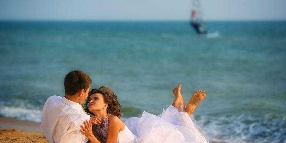 Свадебный мейнстрим в курортных Геническе и на Арабатской стрелке