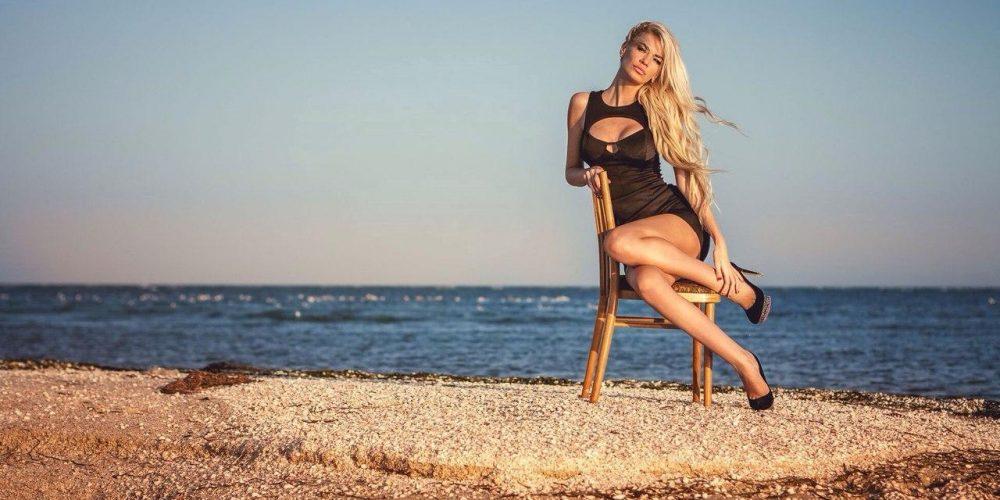 Фотомодель Наталья Еременко: на Арабатской стрелке много красивых мест, главное желание их увидеть!
