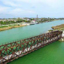 В Геническе установлены веб-камеры с видом на порт, пролив и старинный мост